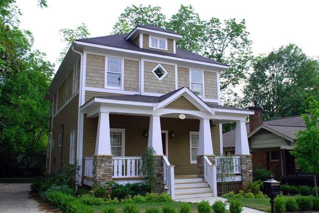 Clapboard Siding Exterior Craftsman with Arts Crafts Bungalow Cottages