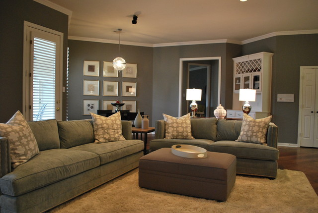 Clark and Kensington Paint Family Room Modern with Categoryfamily Roomstylemodernlocationatlanta