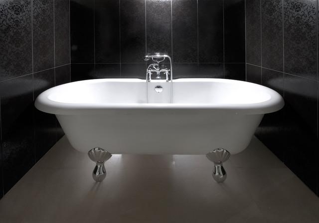 Clawfoot Tubs Bathroom Contemporary with Alcove Bath Fixtures Clawfoot