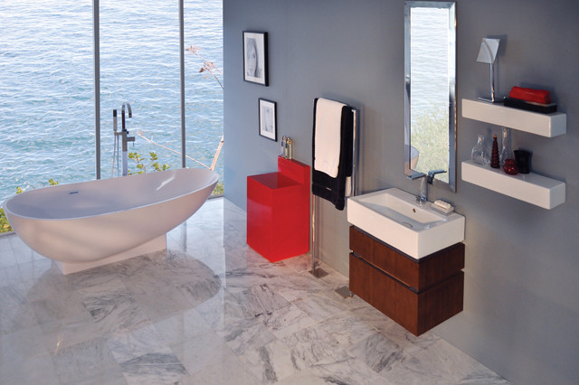 Clawfoot Tubs Bathroom Modern with Categorybathroomstylemodernlocationother Metro