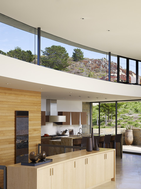 Clerestory Windows Kitchen Contemporary with Architect Daniel Piechota Curved