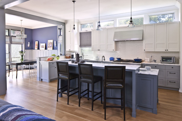 Clerestory Windows Kitchen Contemporary with Blue Clerestory Windows Counter