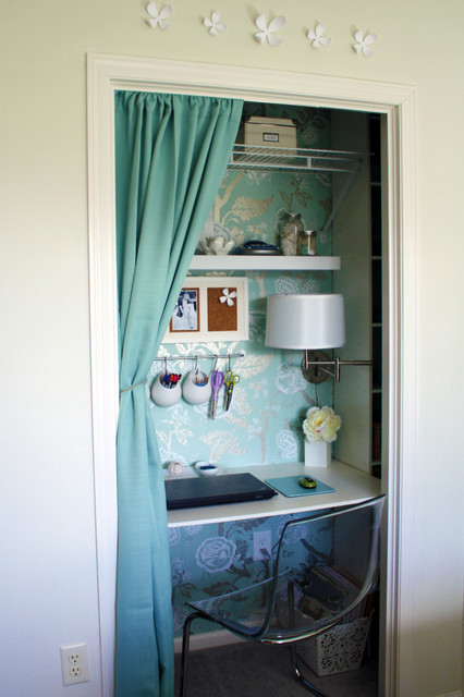 Closet Shelving Systems Home Office Traditional with Built in Desk Built In1