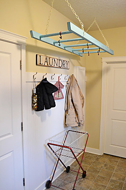 Clothes Hanger Rack Laundry Room Eclectic with Categorylaundry Roomstyleeclecticlocationother Metro