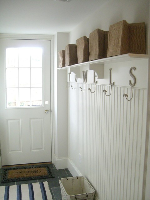 Coat Hanger Stand Entry Beach with Back Entrance Coastal Cottage