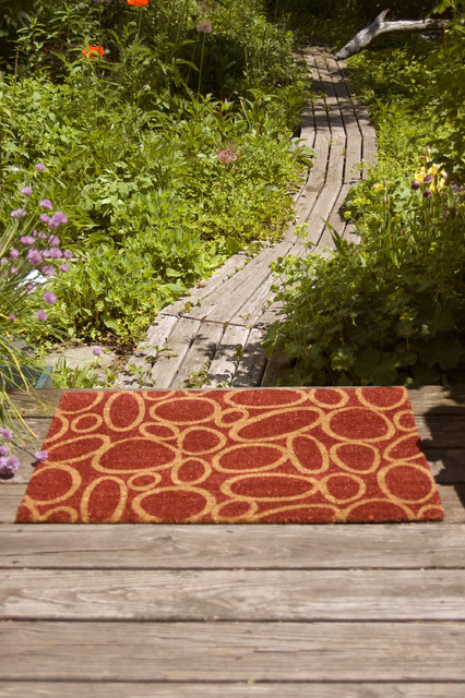 Coir Doormat Entry with Doormats Natural Fibers Natural