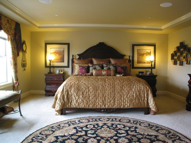 comforters and duvets Bedroom with gold comforter gold duvet