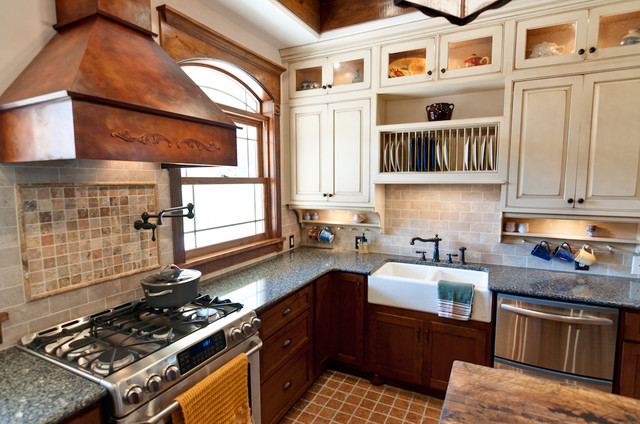 conestoga cabinets Kitchen Traditional with apron sink country kitchen