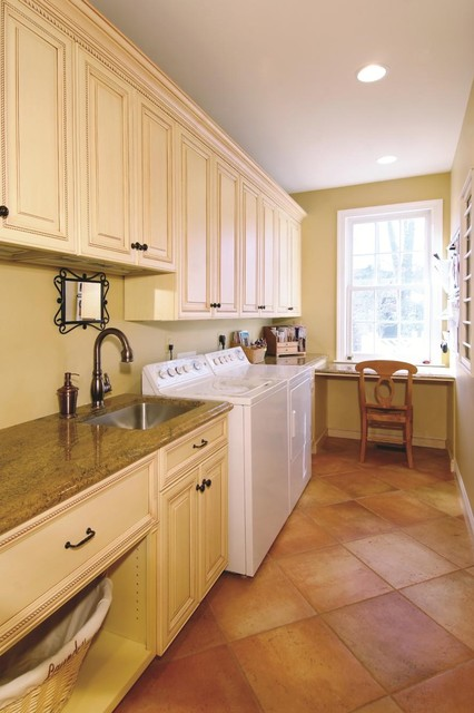 Conestoga Cabinets Laundry Room Traditional with Built in Cabinets Built