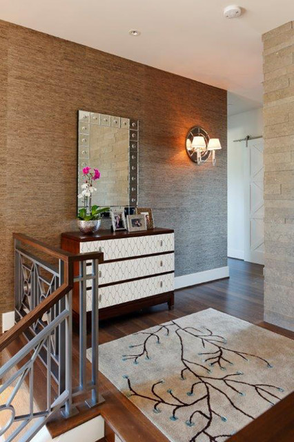 Contract Furnishings Mart Hall Contemporary with Area Rug Console Contemporary