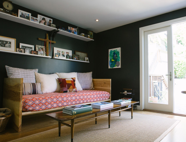 Convertible Sofa Bed Home Office Contemporary with My Houzz
