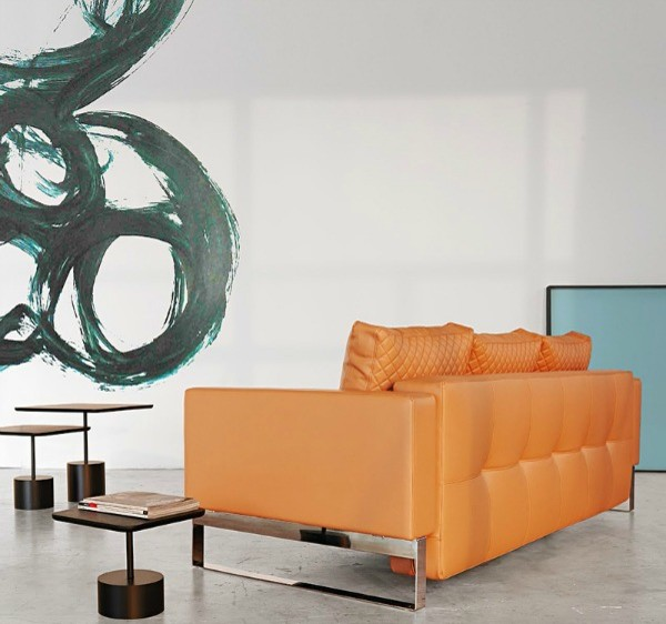 Convertible Sofa Bed Living Room Modern with Convertible Lounge Chair Innovation