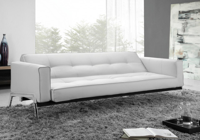 Convertible Sofa Bed Living Room Modern with Convertible Sofa Eco Leather Sofa