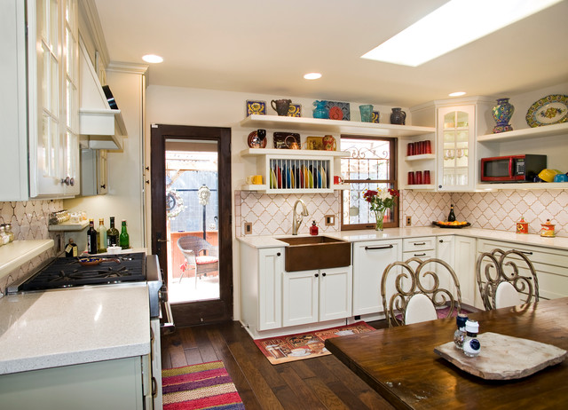 Copper Farmhouse Sink Kitchen Eclectic with Apron Sink Austin Cabinets