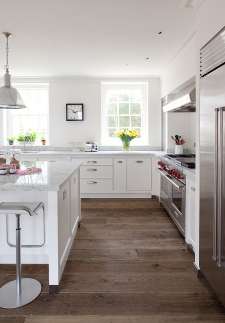 Cork Flooring Pros and Cons Kitchen Farmhouse with Bin Pulls Clock Cup