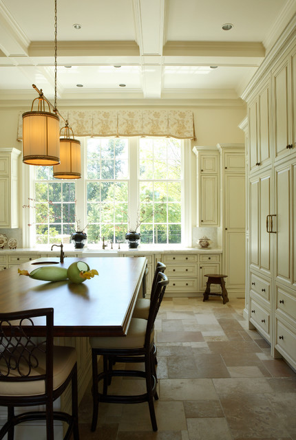 Cork Flooring Pros and Cons Kitchen Traditional with Antique Brass Cabinet Knobs
