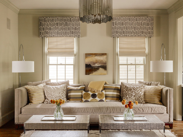 Cornice Board Family Room Transitional with Cool Standing Lamps Cornice