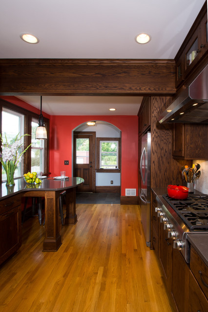 Cost of Quartz Countertops Kitchen Craftsman with Accent Tile Arch Doorway