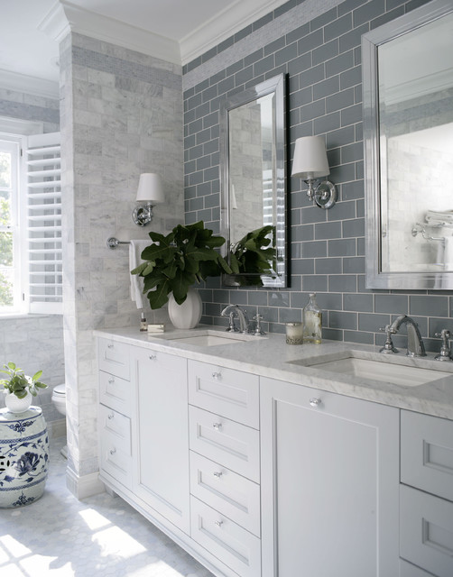 Costco Vanity Bathroom Traditional with Architecture Blue Tile Contemporary