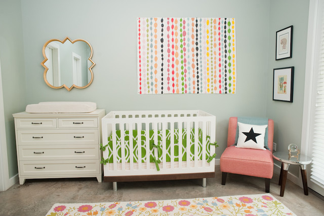 Crib Comforter Kids Eclectic with Children Room Design Colorful