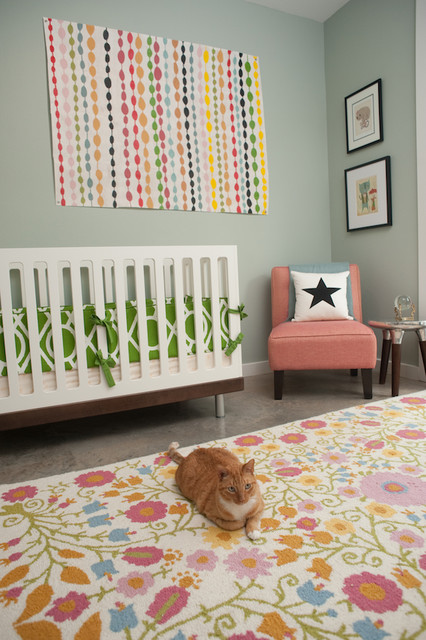 Crib Comforter Kids Eclectic with Children Room Design Colorful1