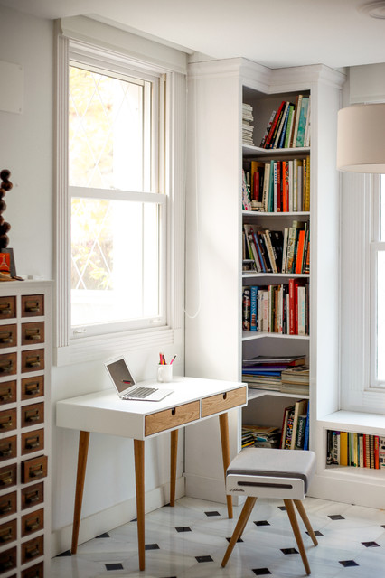 Cubby Shelves Home Office Scandinavian with Blanco Built in Bookcase