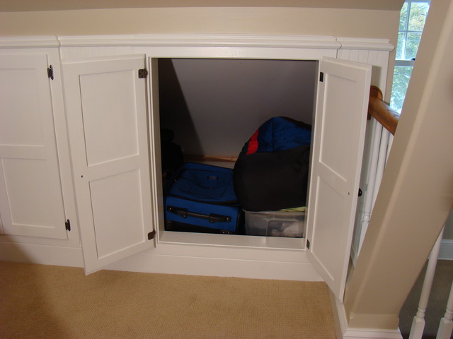 Cubby Storage Unit Spaces Traditional with Attic Attic Bedroom Attic
