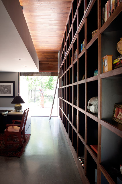 Cube Bookshelf Spaces Contemporary with Custom Fabrication Wall Storage