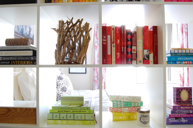 Cube Bookshelf Spaces Eclectic with Book Shelf Colorful Manhattan