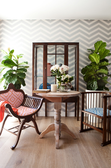 Cuddle Chair Dining Room Contemporary with Beach Style Beach Style