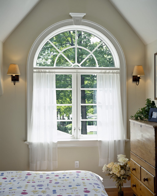 Curtain Rings with Clips Bedroom Traditional with Armoire Baseboard Beige Wall