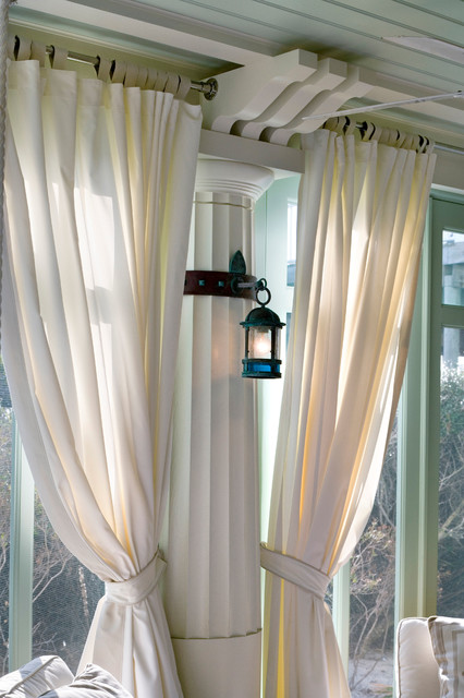 Curtain Rod Brackets Spaces Beach with Categoryspacesstylebeach Stylelocationother Metro