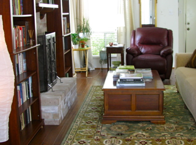 curtain rods ikea Living Room Eclectic with book collection books bookshelves