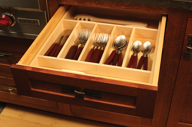Cutlery Caddy Kitchen Craftsman with 1900 1900s 2 Level