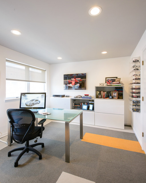 Dalworth Carpet Cleaning Home Office Contemporary with Black Task Chair Book