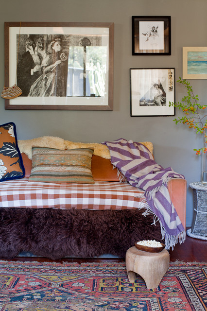 Daybed Frame Living Room Eclectic with Day Bed Daybed Framed