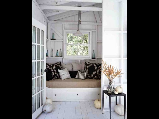 Daybed Ikea Bedroom Beach with Bed Black White Interior