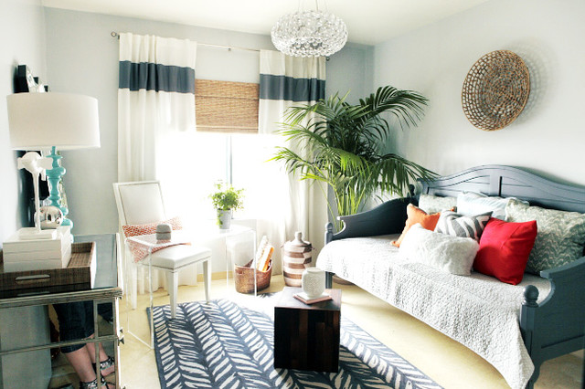 daybed ikea Bedroom with african basket basket on