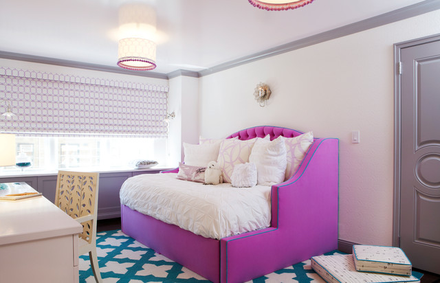 Daybeds for Girls Kids Contemporary with Bed Bedding Bedroom Desk