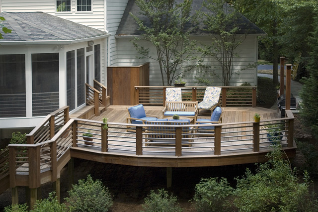 Deck Railing Designs Deck Traditional with Deck Handrail Outdoor Cushions1