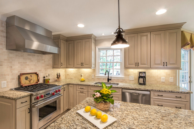 Decora Cabinets Kitchen Traditional with Bright and Airy Kitchen1