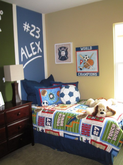 Decorative Chalkboards Kids Contemporary with Accent Wall Bed Pillows