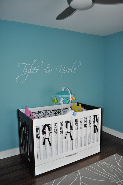 Decorative Chalkboards Nursery Modern with Area Rug Baseboards Blue