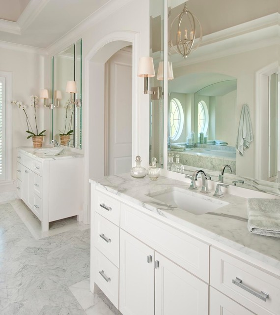 Delta Touch Faucet Bathroom Traditional with Arch Arched Doorway Barrel