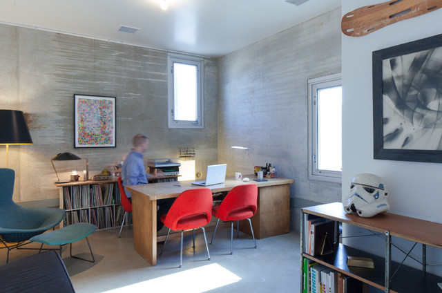 Desk Blotters Home Office Contemporary with Affordable Aluminum Contemporary Eames