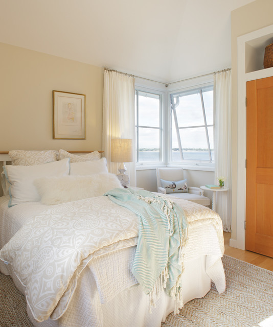 difference between duvet and comforter Bedroom Shabby chic with bedroom window treatments beige