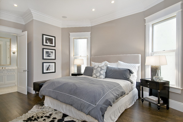 Difference Between Duvet and Comforter Bedroom Traditional with Artwork Bed Side Table