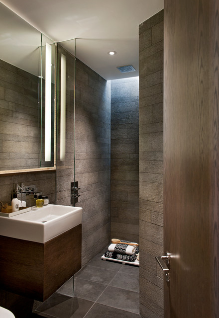 Dimmable Led Bulbs Bathroom Contemporary with a Wet Room Bathroom