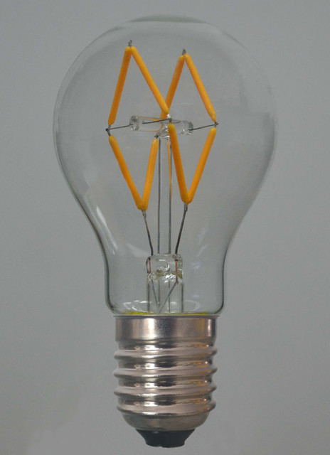 dimmable led bulbs Spaces with A19 LED filament lamp