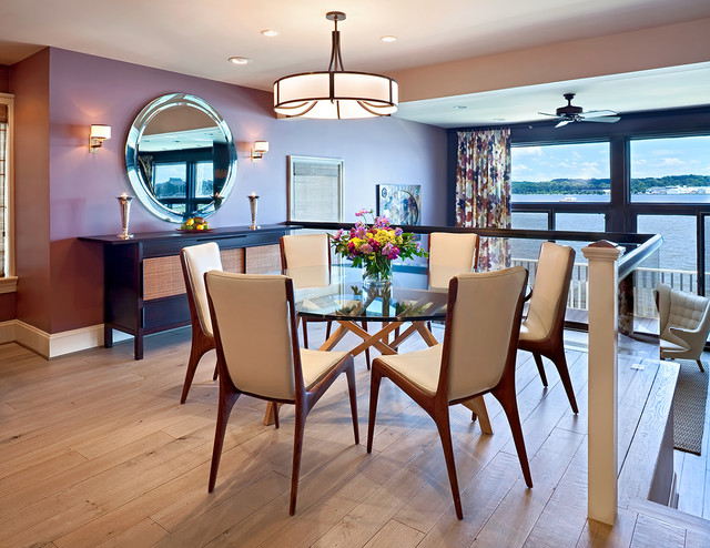 Dinette Tables Kitchen Contemporary with Buffet Danish Modern Glass